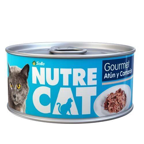 Nutre Cat Atún y Camarón