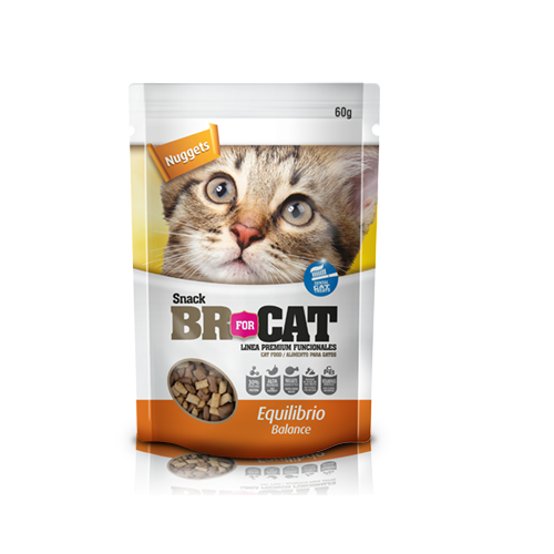 Snack BR for CAT equilibrio 60 gr