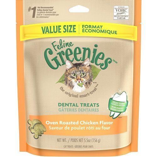 Snacks Greenies para Higiene Dental Sabor a Pollo