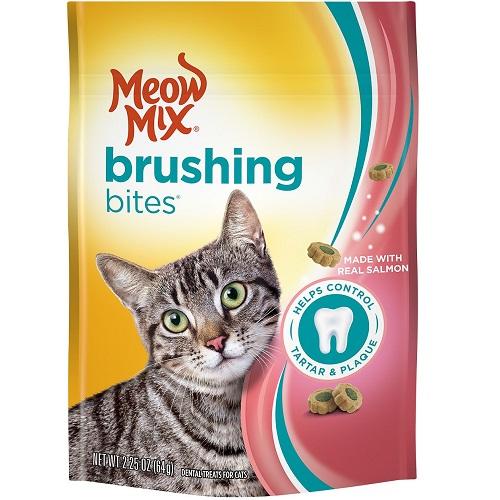 Snacks de Salmón para Higiene Dental Meow Mix