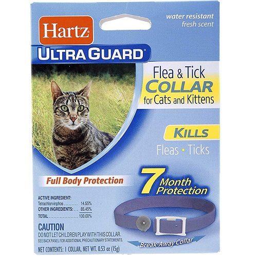 Collar Hartz UltraGuard para pulgas y garrapatas
